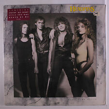 HEADPINS: Head Over Heels LP (title toc, promo stamp on back cover) Rock & Pop