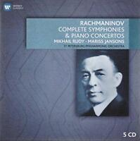 Mariss Jansons - Rachmaninov: Piano Concertos And Orchestral Works (NEW 5CD)