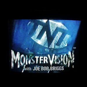 VHS Sold As Blank MONSTERVISION Joe Bob Briggs ~ Gremlins ~ Horror Comedy