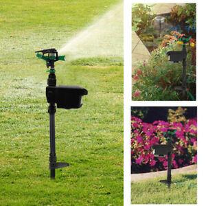 Sprinkler Motion Activated Animal Deterrent Repellent Water Spray Scarecrow Away