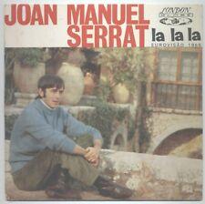 JOAN MANUEL SERRAT LA LA LA EUROVISION 1968  GEB 3011 CANTA EN PORTUGUÈS