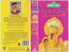 Big Bird Sings: 123 Count With Me - VHS, Sesame Street, ABC For Kids