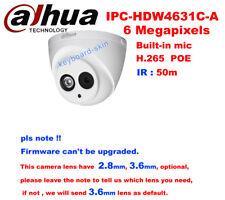 Dahua DH-IPC-HDW4631C-A 6MP 50M IP67 PoE Built-in Mic Network indoor IP Camera