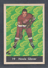 1961 Parkhurst #19 Howie Glover Toronto Maple Leafs NM Plus