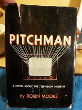 PITCHMAN by Robin Moore - SIGNED/Inscribed/1st ED -- Author's First Book