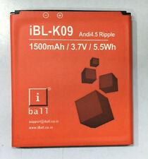 100% Original Ibl-K09 Battery for Iball Andi4.5 Ripple with 1500 mAh