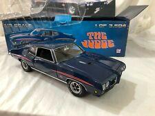 1/18 scale metal model GMP 1970 Pontiac GTO The Judge blue