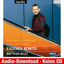 Hörbuch-Download (MP3) ★ Matthias Beltz: Eigenes Konto