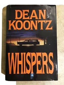 Whispers by Dean Koontz 1980 Hard Cover With Dust Jacket