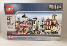 New LEGO 10230 Mini Modulars Grand Emporium Fire Brigade Cafe Grocer Mkt. SEALED