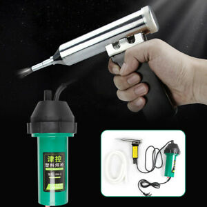 1000W Hot Air Welding Gun Pistol Plastic Welder Heat Gun Hot Gas Welder Set Kit