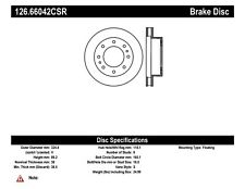 StopTech Front Right Disc Brake Rotor for 99-13 Chevrolet GMC Hummer Cadillac