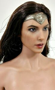 FREE SHIPPING: Hot Toys MMS359 Wonder Woman Head Sculpt BvS Dawn of Justice