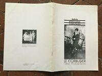 El Corbusier Taller 35 R. Sevres Boletín de Información Arquitectura 1987