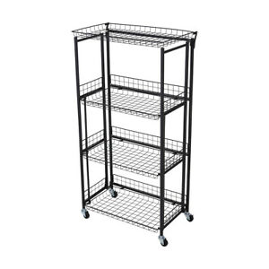 Collapsible Pantry Shelves Easy To Assemble For Indoor And Domestic Use Only M1
