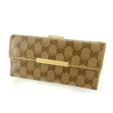 GUCCI Purse Wallet  crystal GG unisex Authentic Used C2317