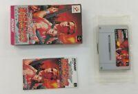 CONTRA SPIRITS  Nintendo Super Famicom with box Japanese SFC SNES Japan USED