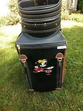 Vintage Belding Sports Disney Mickey Mouse golf bag brown black never used