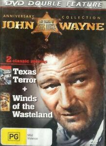 WINDS OF THE WASTELAND + TEXAS TERROR DVD John Wayne Movie Western Movies