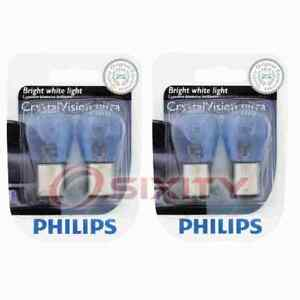 2 pc Philips Rear Turn Signal Light Bulbs for Asuna Sunfire 1993 Electrical ws