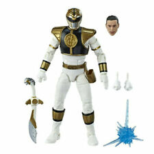 LOOSE Hasbro Power Rangers Lightning Collection Mighty Morphin White Ranger
