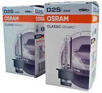 D2S OSRAM XENARC Classic P32d-2 35W Xenon -Made in Germany- 2st 66240CLC