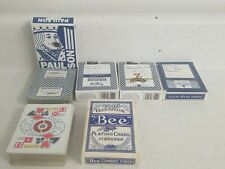 New Listing5 Decks Casino Playing Cards Harrah's Prairie Wind Catalliac Jack Bee Royal