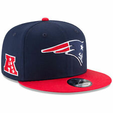New England Patriots New Era 9FIFTY NFL Baycik Snap Snapback Hat Cap 950 Flat