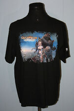 Guild Wars Eye of the North Black Pullover Promotional Tee Shirt XL