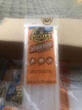 Hot Glue Sticks for Gorilla High/Low Temp Glue Guns Clear Weather Resistant Mini