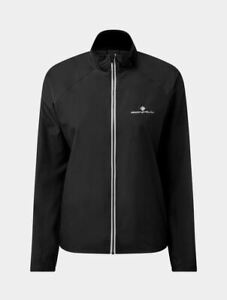 Ronhill Womens Core Running Jacket Water & Wind Resistant - Black