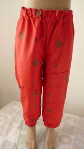 Girls New, Handmade, Unique Party Trousers. Fit 5-8 Years.