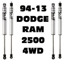 "Fox 2.0 Perform. Series Front + Rear Shocks w/4-6"" Lift For 94-13 Ram 2500 4WD"