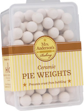 Reusable Ceramic Pie Crust Weights For Baking Food Safe Mrs Anderson's Stoneware