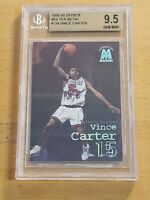1998 Skybox MOLTEN METAL Vince Carter BGS 9.5 Centering 10 Ebay 1/1 Rare!!