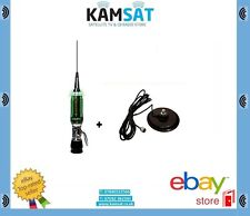 CB MOBILE ANTENNA WITH LED SIRIO PERFORMER 5000 PL 10M 3/8 MAGNETIC BASE