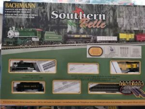 Bachmann Southern Belle N Scale Train Set With E-Z Track No. boxed