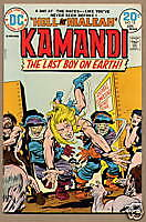 KAMANDI, LAST BOY ON EARTH #13, DC 1974, Kirby FN/VF