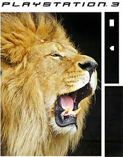 PlayStation 3 PS3 LION ROARING Vinyl Sticker Skin