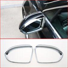 For Volkswagen Passat B8 2016-2018 Chrome Side Door Mirror Eyebrow Cover Trim