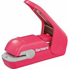 Kokuyo Japan Harinacs Press Holeless Staple Free Stapler Sln Mph105p Pink