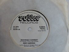 MIKE HARDING Rochdale cowboy / strangeways hotel RUBBER RECORDS ADUB3