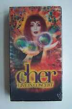 Cher - Live in Concert VHS Tape New Sealed