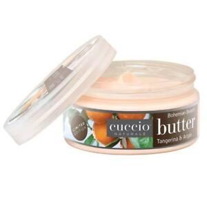 CUCCIO NATURALE Crema corpo idratante nutriente mani piedi Mandarino olio argan
