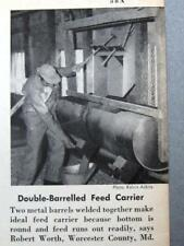 Original 1957 Handy Farmer Photo Article Robert Worth, Worcester County Maryland