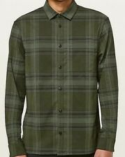 Lululemon Mens Size XXL Masons Peak Flannel Shadow Plaid Soft Long Sleeve Shirt