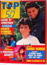TOP 50 n°127 David et Jonathan/ Eighth Wonder/ Sandy/ Annie Pujol/ Ginna Nannini