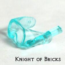 LEGO Minifigure TRANS LIGHT BLUE Visor Scuba Diver Mask Swiming