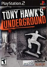 Tony Hawk's Underground - Playstation 2 Game Complete