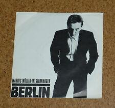 Single 7 Marius Müller Westernhagen Berlin / Schrei WEA